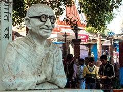 सरकारी दफ्तरों में महात्मा गांधी की तस्वीरों को हटाने की मांग, हिंदू महासभा ने कहा- देश में असली आतंकवाद की वजह गांधीवाद