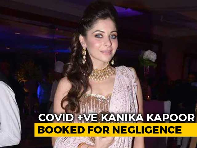 "Video : Police Complaint Filed Against COVID-19+ Kanika Kapoor For ""Negligence"""
