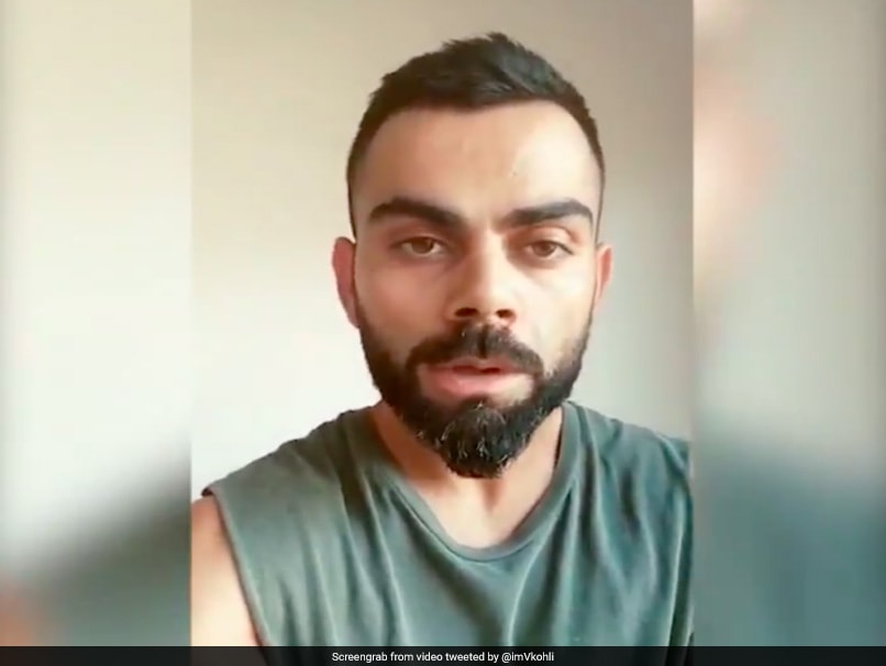Virat Kohli Gets A 'Beautiful Haircut' By His Wife Anushka Sharma