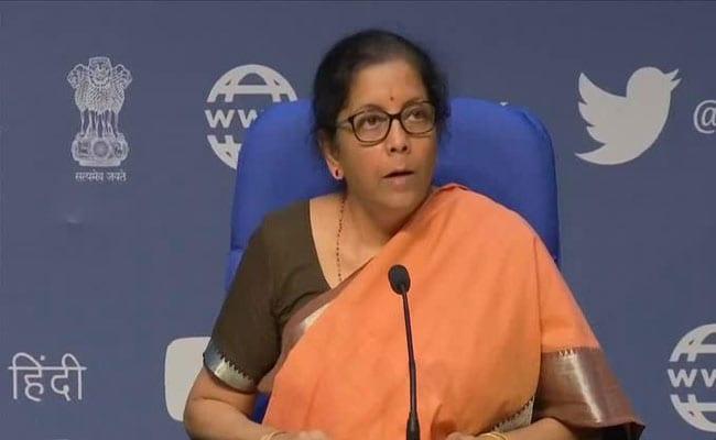 finance minister nirmala sitaraman