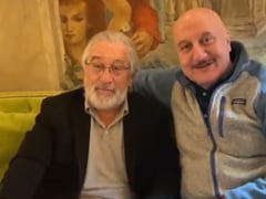 "Anupam Kher Celebrates Birthday With Robert De Niro In New York ""Third Year In A Row"""