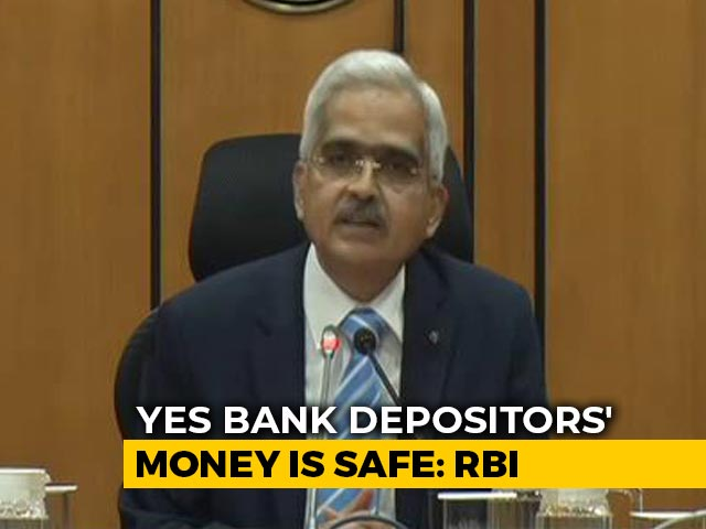 """Video : """"Sustainable, Credible Rescue Plan"""": RBI On Yes Bank"""