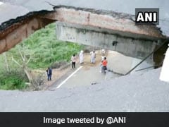 Part Of Haryana Flyover Collapses Within Six Month Of Its Inauguration