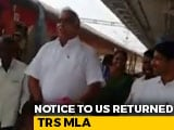 Video : Watch: Telangana MLA Says He'll Self-Isolate, Takes Train, Attends Events