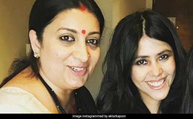 Ekta Kapoor Shares Adorable Post For 'Soul Sister' Smriti Irani: 'She Makes Me Wanna Do Better'