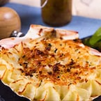 Give Scalloped Potatoes A Veggie Twist (Recipe Video Inside)