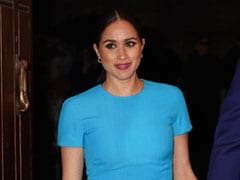 Meghan Markle's Chic Blues Are Certainly The Kind We Can Get Behind