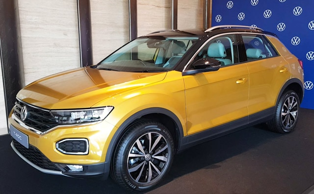 The Volkswagenn T-Roc sold in India is the European specced car.