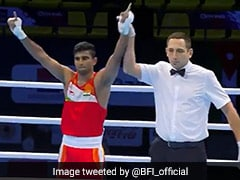 Manish Kaushik Enters Quarters Of Spain Boxing Tournament