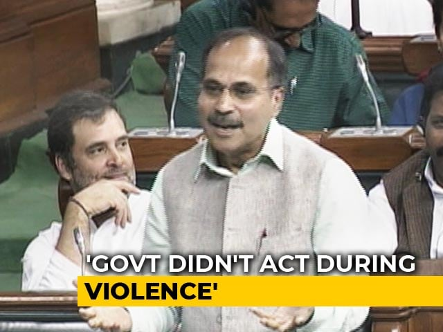 Video : Congress Demands Amit Shah's Resignation Over Delhi Violence
