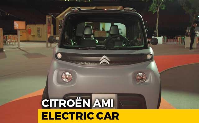 Video : Citroen AMI Electric Car