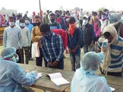 लॉकडाउन में फंसे 1200 मजदूरों को लेकर तेलंगाना से झारखंड जा रही है 24 डिब्बों की ट्रेन