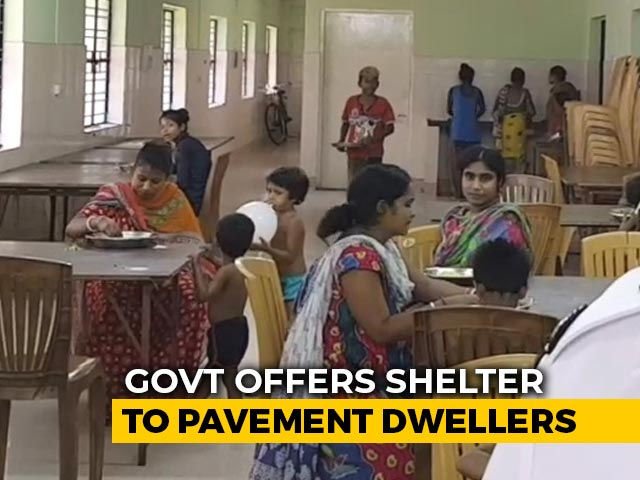 Video : Bengal Government Offers Shelter To The Homeless Amid Lockdown