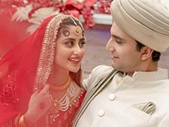 Inside <I>MOM</I> Actress Sajal Ali's Abu Dhabi Wedding. See Trending Pics