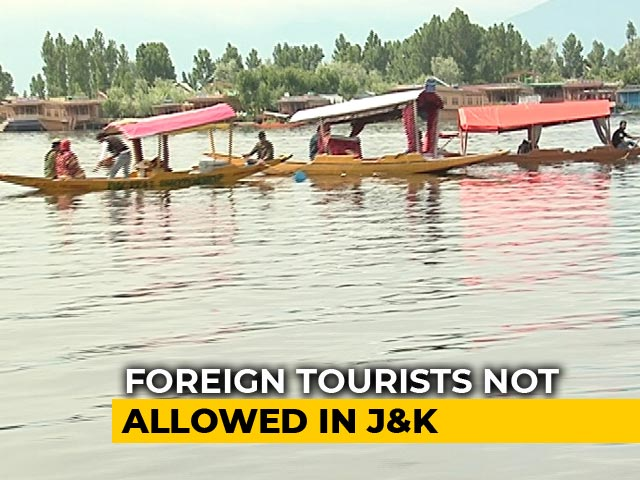 Video : Coronavirus Outbreak: Jammu And Kashmir Bans Foreign Tourists