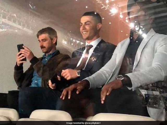 Real Madrid vs Barcelona: Ronaldo Celebrates Real Madrids El Clasico Win From The Stands