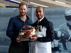 Prince Harry And F1 Champion Lewis Hamilton Inaugurate Silverstone Museum