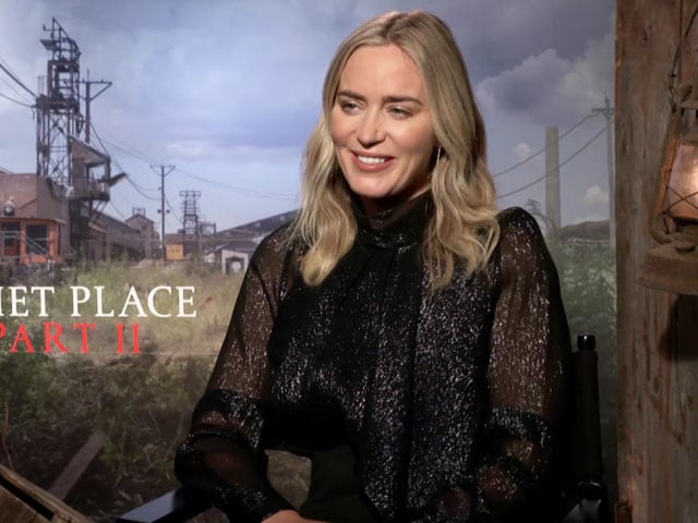 Emily Blunt On A Quiet Place Part II, Working With John Krasinski & More