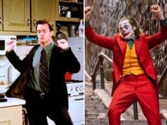 Turns Out, Matthew Perry Did The Joker Pose Way Before Joaquin Phoenix