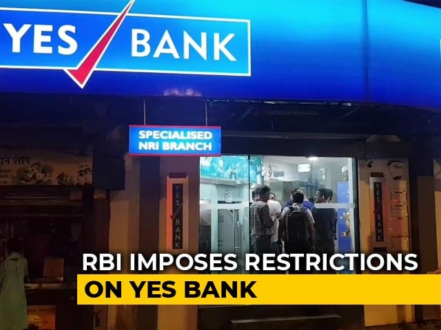 Video : Yes Bank Plunges After RBI Takes Control, Caps Withdrawal Limit