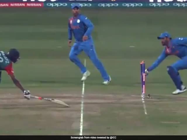 MS Dhoni Shattered Bangladeshs Hopes In T20 World Cup On This Day In 2016. Watch