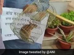 बिहार विधानसभा में राबड़ी देवी के साथ RJD विधायक चूहा लेकर पहुंचे, कहा- सजा देने के लिए लाए हैं