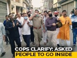 "Video : UP Officials Seen With Crowd Amid ""Janata Curfew"". Then A Clarification"