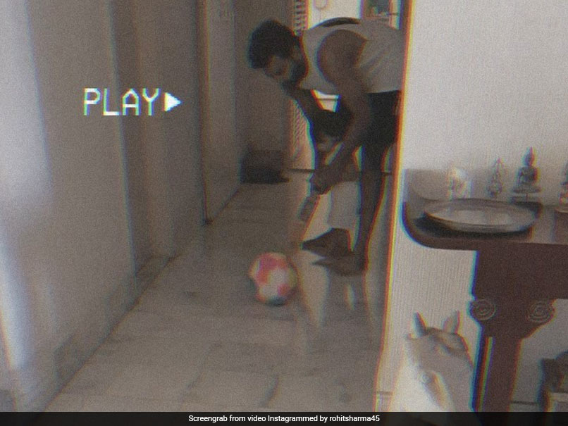 Watch: Rohit Sharma Shares Adorable Video Of Daughter Samaira Playing Cricket