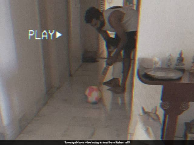 Rohit Sharma Shares Adorable Video Of Daughter Samaira Playing Cricket. Watch