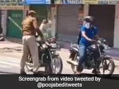 'जनता कर्फ्यू' में बाइक लेकर निकले लोग, तो पुलिस ने चला दी लाठियां, एक्ट्रेस बोलीं- सख्ती भी हो रही है...