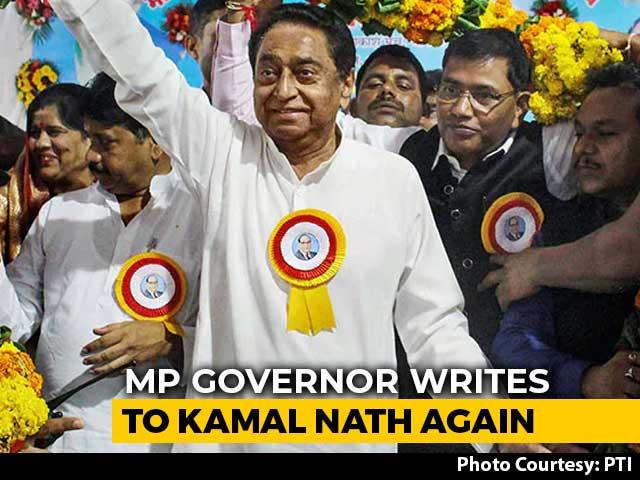 Video : Madhya Pradesh Governor Asks Kamal Nath To Take Trust Vote Tomorrow