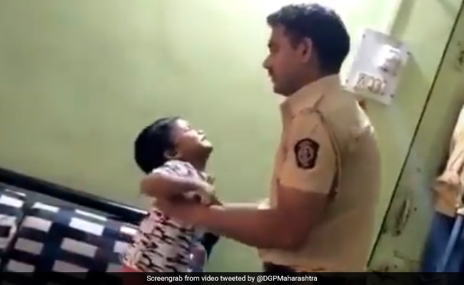 Watch: Maharashtra Cop's Son Pleads Father Not To Go Out Amid Lockdown