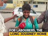 "Video : ""Want To Go Home"": Boy Weeps At Deserted Delhi Bus Station Amid Lockdown"