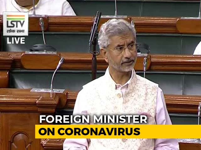 "Video : ""Coronavirus Matter Of Concern,"" Says Foreign Minister; Cases Climb To 73"