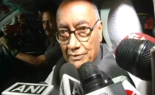 Digvijaya Singh's Advice To Rahul Gandhi Irks Congress MP. Then...