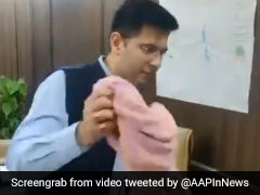 Why AAP's Raghav Chadha Removed Towel From Chair After Assuming Office