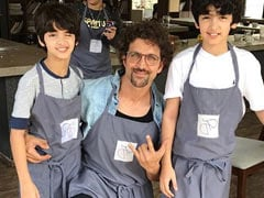 "Hrithik Roshan ""Couldn't Ask For A Better View"" Other Than His Sons Hridhaan, Hrehaan"