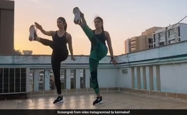 Gyms Are Shut So Katrina Kaif Has Turned Work From Home Into Work Out From Home thumbnail