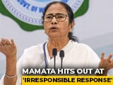 "Video : ""Can't Claim VIP Status, Avoid COVID-19 Test"": Mamata Banerjee Slams Teen"
