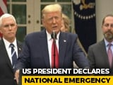 Video : Coronavirus: Donald Trump Declares National Emergency In US