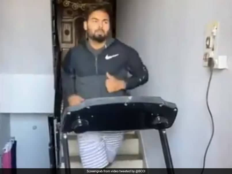 Rishabh Pants Workout Video Will Inspire You To Stay Fit During Lockdown. Watch