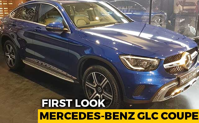 2020 Mercedes-Benz GLC Coupe First Look