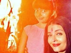 Holi 2020: Inside Aishwarya Rai Bachchan And Daughter Aaradhya's Celebrations