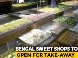 Video : Lockdown Relief For Bengal's Sweet Lovers: State Govt
