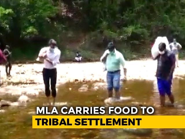 Video : Kerala MLA, Collector Trek With Supplies To Help Tribal Communities