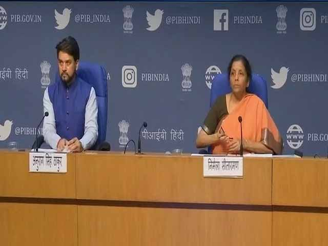 """Video : Centre Announces 1.7 Lakh Crore Package For Poor: """"No One Will Go Hungry"""""""