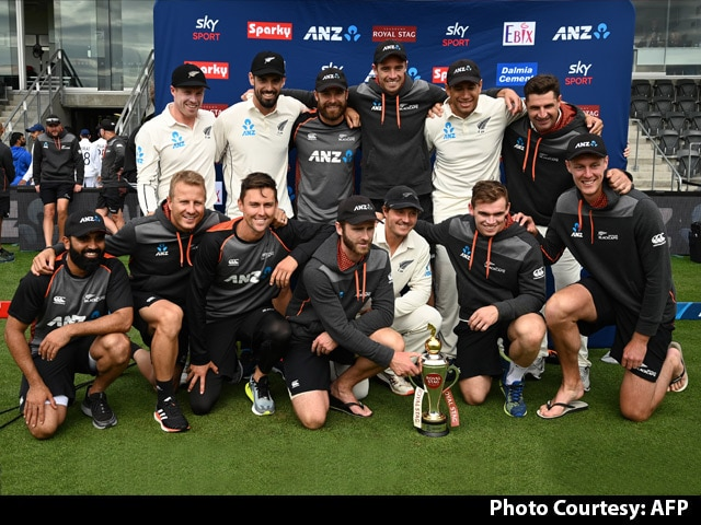 New Zealand Beat India To Sweep Test Series 2-0