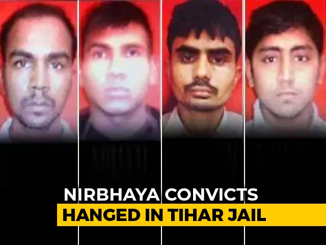 Video : Nirbhaya Convicts Hanged At Delhi's Tihar Jail For 2012 Gang-Rape And Murder