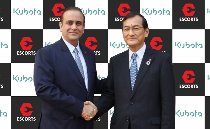 Kubota Corporation Acquires 10 Per Cent Stake In Escorts Limited
