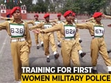 Video : 101 Young Women Recruits Being Trained By Army